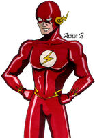 The Flash by hatoola13