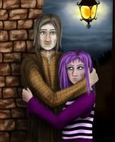 Remus and Dora by Indiliel