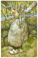 Spring Look Out by 3-hares