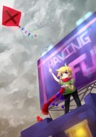 Fly kite, fly. by LukyAnC