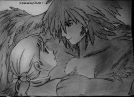 Howl and Sophie - Howl's Moving Castle by amazinglife2011