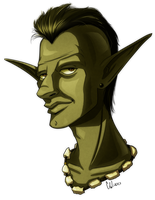 Goblin Portrait by Otakatt