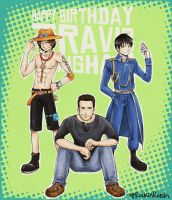 Happy B-day Travis Willingham by rockinrobin