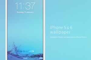 iPhone 5 and 6 wallpaper by walkofshame