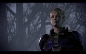 FemShep ME3 Kate by chicksaw2002