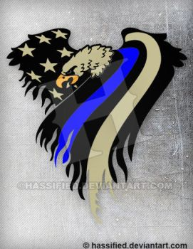 law enforcement american flag - photo #19