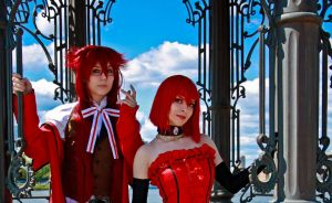 Madam Red and Grell by KaariRika