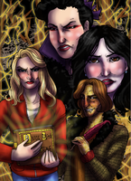 Once Upon a Time print by rusting-angel