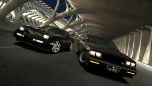 GT6 Corvette ZR-1 and Buick GNX by Chernandez2020