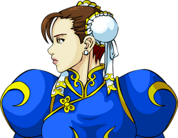 Chun Li - Street Fighter by mikael123