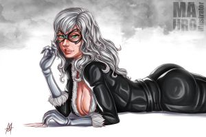 Black Cat by MauroIllustrator