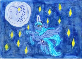 Something strange on the moon by myhaska98