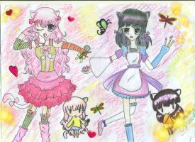 Contest Entry .:Pink and Purple:. by AlianaMarvell