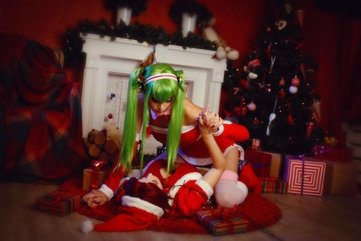 Code Geass - Christmas C.C. by Mari-Evans