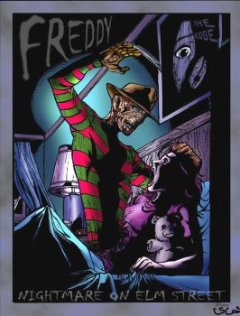 Freddy by dlxcsccomicartist by Horror-Forever