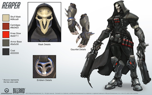 Reaper - Overwatch - Close look at model by PlanK-69