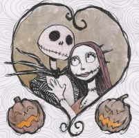 Jack and Sally by suthnmeh