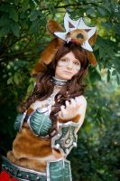 WoW Wolf Mount Brown by SylviaHope