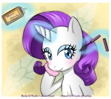 MLP - Rarity by VioletChiko