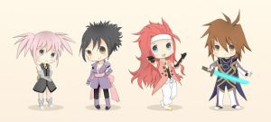 Symphonia A-team :3 by sylphEX