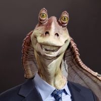 Meesa Jar Jar by somewhere-far-beyond