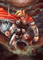 Thor God Thunder by Fpeniche