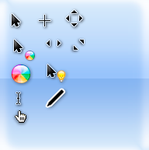 Mac OS cursors by rian76