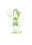 Doodle: Spirit Summoner Yuki by RageVX