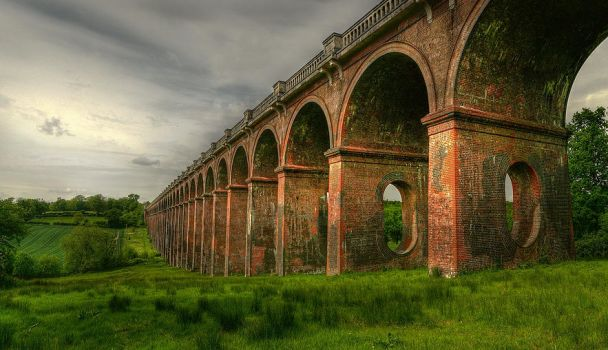 Balcombe Viaduct by wreck-photography