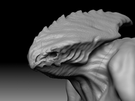 Creature WIP by AndreasWerchmeister
