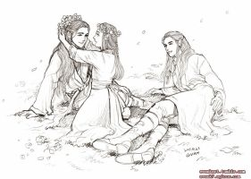 Children of Elrond by evankart