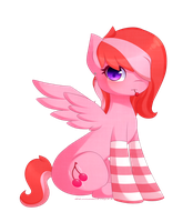 Mlp OC- Cherry Splash by LunaticLily13