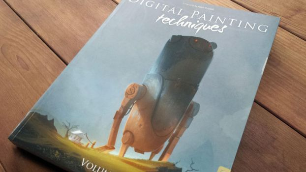 Art Book Review: Digital Painting Techniques: V6 by CGCookie