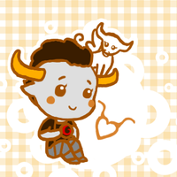 It's a Tavros. A KAWAII Tavros. by persephone89