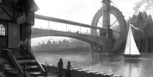 Bridge Concept 1 by ZacharyHogan