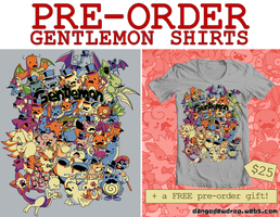 Gentlemon Pre-order by Pluffers