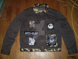 army brat jacket by Ampzord