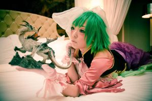 Sandplay of the Dragon:GUMI II by Ayatenshi