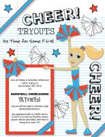 Cheer Tryouts by jdDoodles
