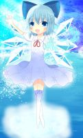 Cirno - Ice Fairy by zWaffle