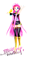 -MMD- The Pink Diva by MariMariD