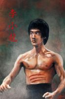 Bruce Lee by DarkRone