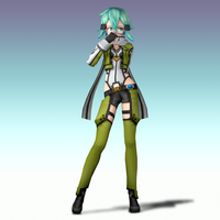 Smash Bros Brawl: Sinon by Mach-7