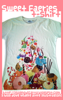 Sweer Faeries T-shirt by sangitchi
