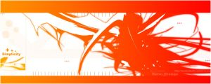 Simplicity_Retro Orange by Joedaddy