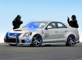 Cadillac CTS-V police car by the-alkspain