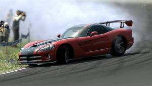 Dodge Viper ACR Drift by PokemonIsTheBest