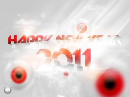 happy new year 2011 by njjold by imam5Spartan