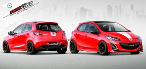 Mazda2 REDesign Contestant #2 by idhuy