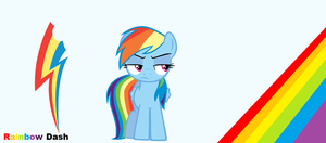 Rainbow Dash wallpaper by Rose-fang
